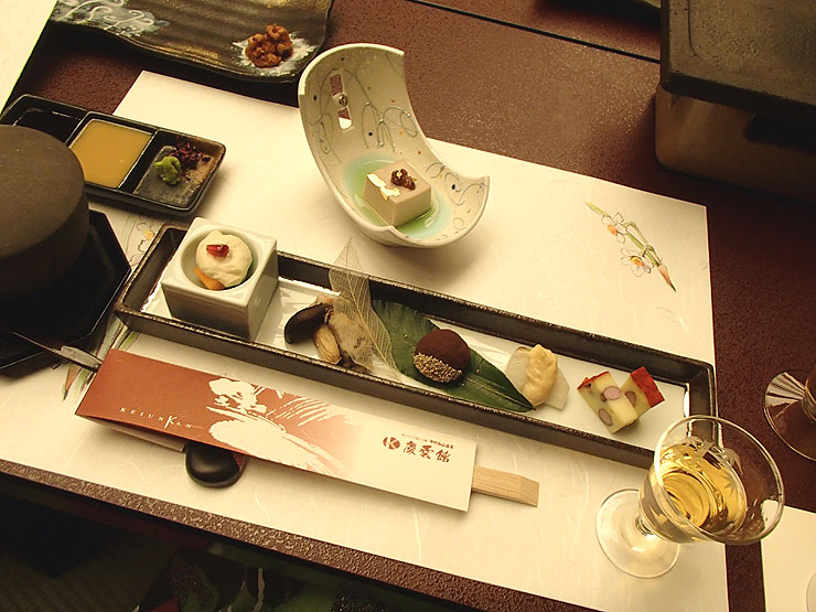 慶雲館夕食